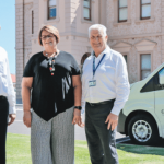 Community Care and Transport's New Van